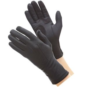 Isotoner Womens Stretch Classic Gloves Black NWT